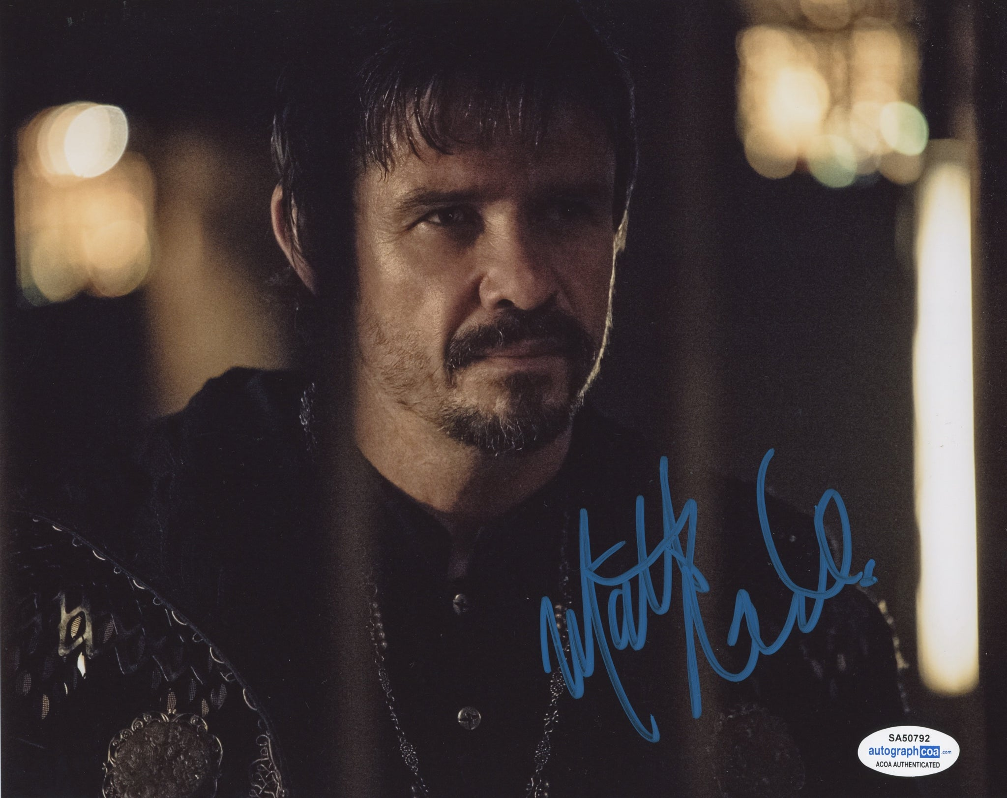 Matt Nable Arrow Signed Autograph 8x10 Photo ACOA