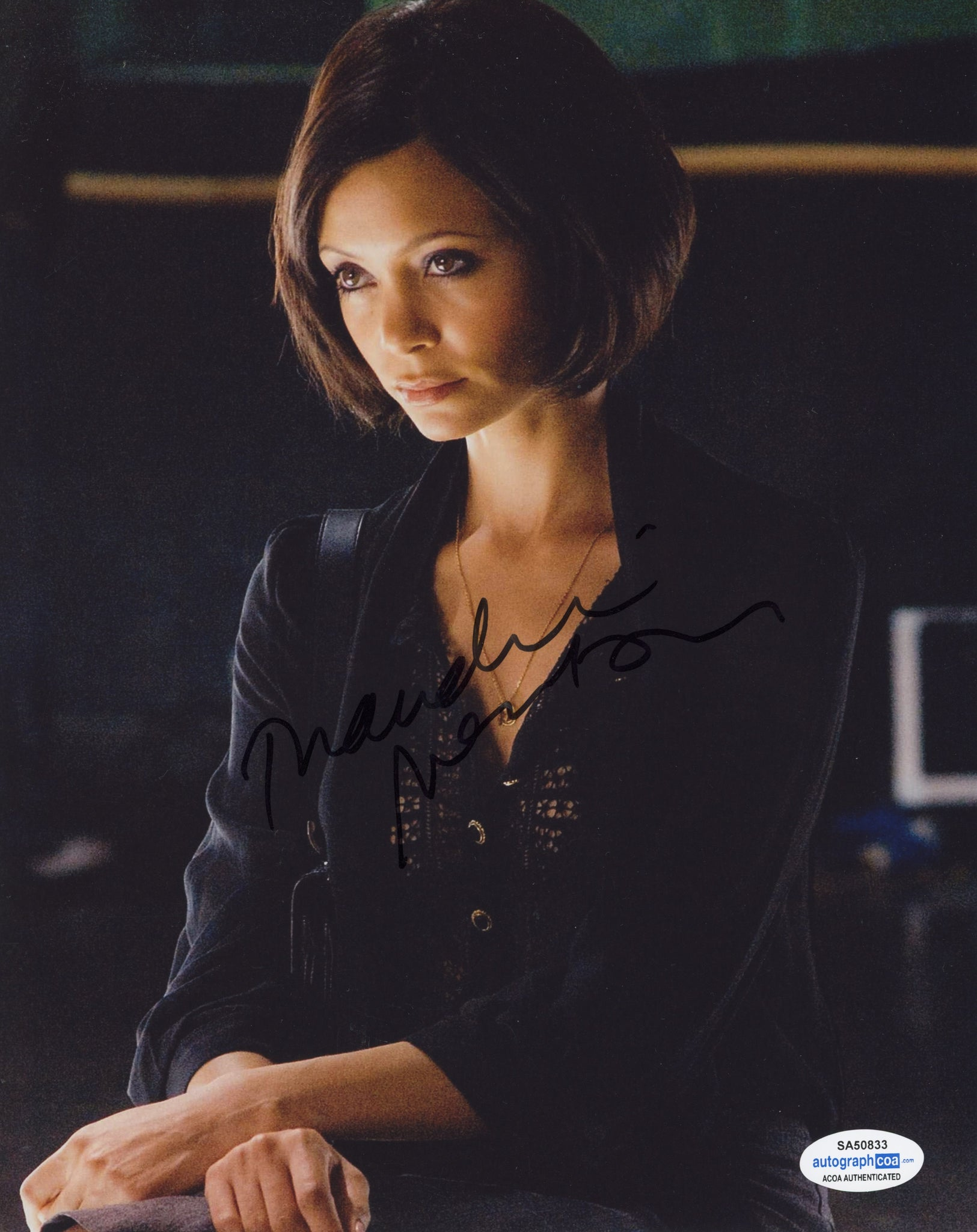 Thandie Newton RockNRolla Signed Autograph 8x10 Photo ACOA