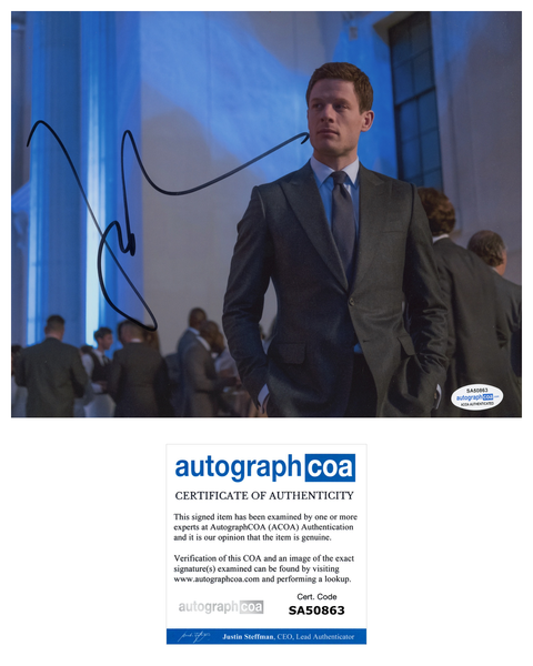 James Norton Grantchester Little Women Signed Autograph 8x10 Photo ACOA