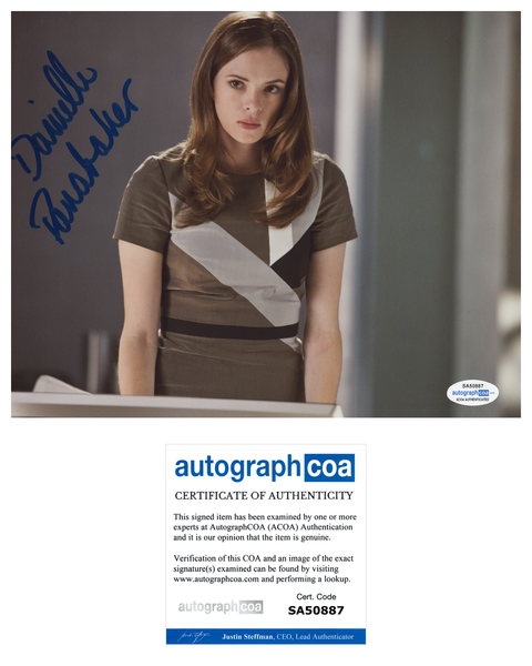 Danielle Panabaker Flash Killer Frost Signed Autograph 8x10 Photo ACOA
