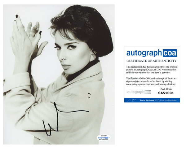 Isabella Rossellini Sexy Signed Autograph 8x10 Photo ACOA