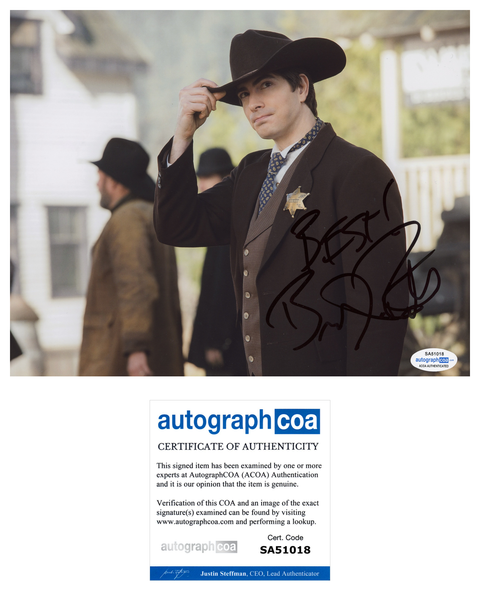 Brandon Routh Arrow Legends of Tomorrow Signed Autograph 8x10 Photo ACOA