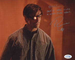 Michael Rowe Deadshot Arrow Signed Autograph 8x10 Photo ACOA