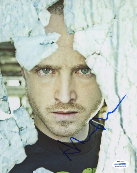 Aaron Paul Breaking Bad Signed Autograph 8x10 Photo ACOA