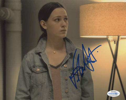 Victoria Pedretti Haunting of Hill House Signed Autograph 8x10 Photo ACOA