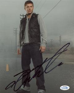 Jensen Ackes Supernatural Signed autograph 8x10 Photo ACOA