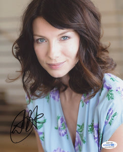 Caitriona Balfe Outlander Signed Autograph 8x10 Photo ACOA Claire Fraser