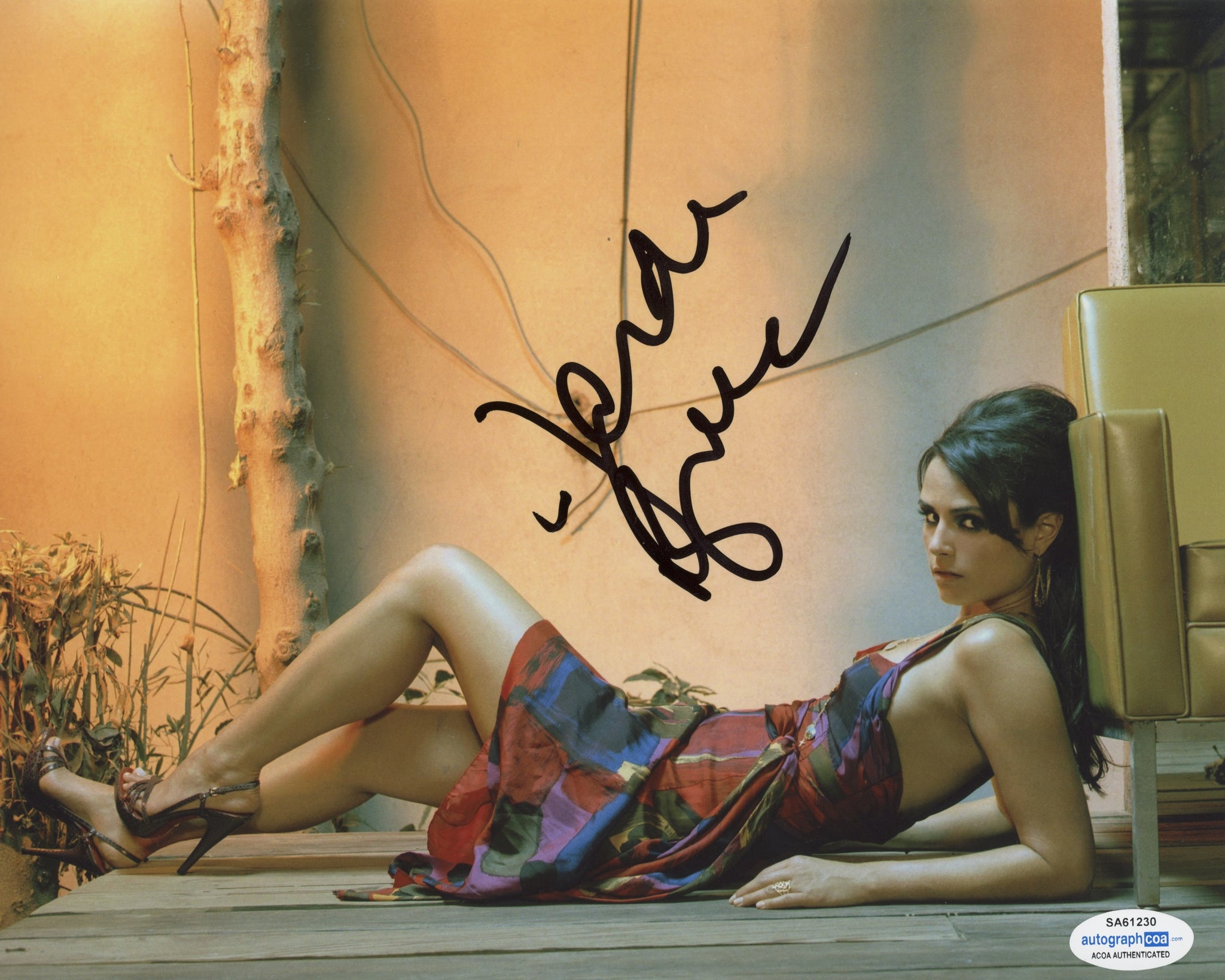 Jordana Brewster Fast and Furious Signed Autograph 8x10 Photo ACOA