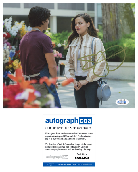 Sarah Jeffery Charmed Sexy Signed Autograph 8x10 Photo ACOA