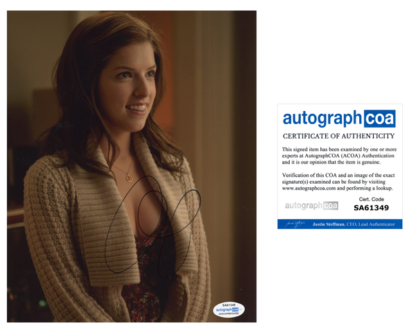 Anna Kendrick Twilight Signed Autograph 8x10 Photo ACOA