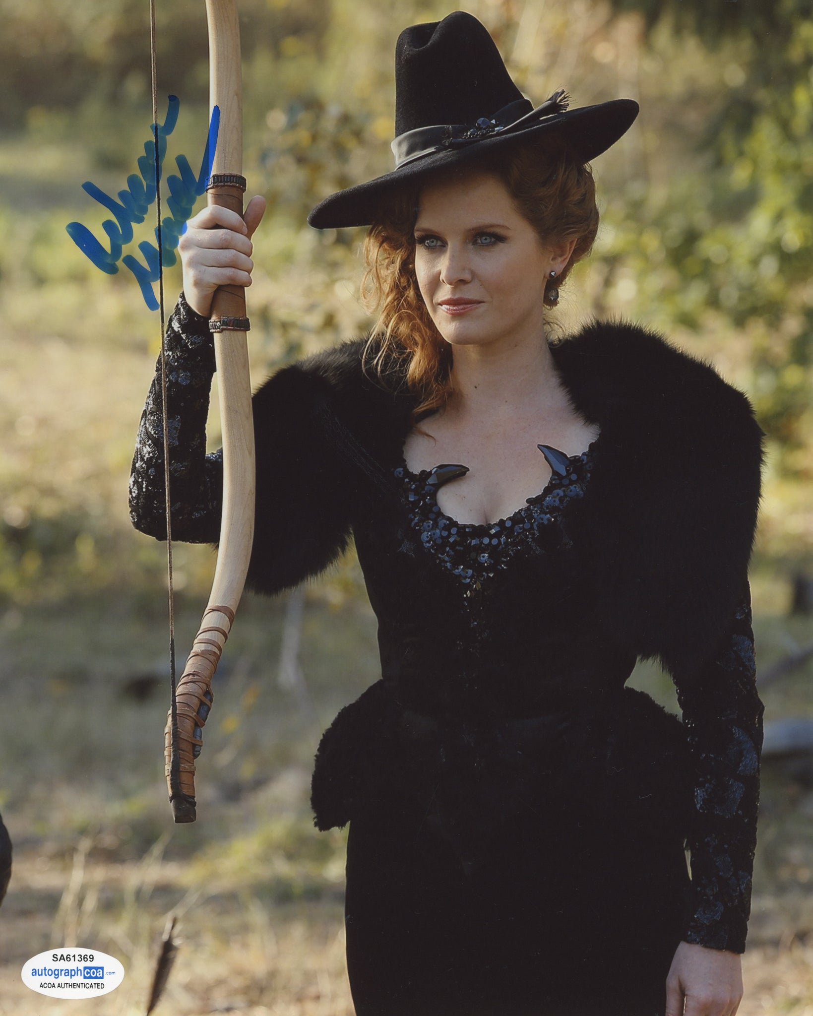 Rebecca Mader Once Upon A Time Signed Autograph 8x10 Photo ACOA