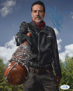 Jeffrey Dean Morgan Walking Dead Signed Autograph 8x10 Photo ACOA