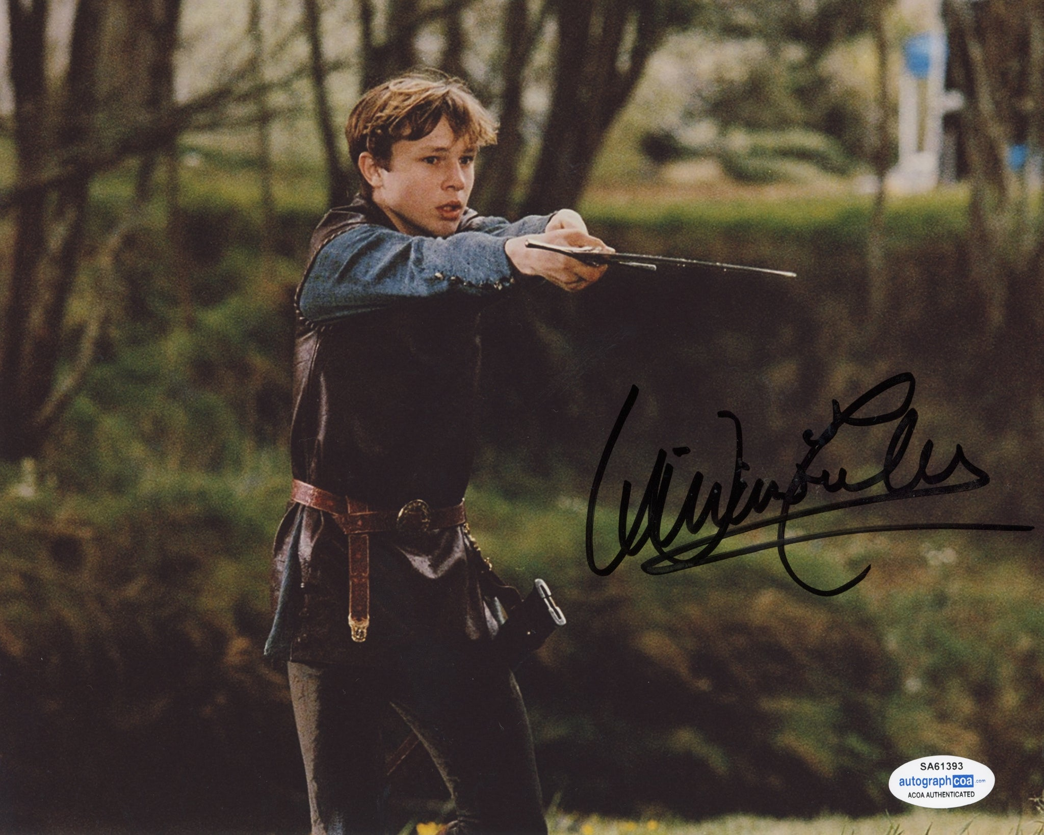 William Moseley Chronicles of Narnia Signed Autograph 8x10 Photo #4