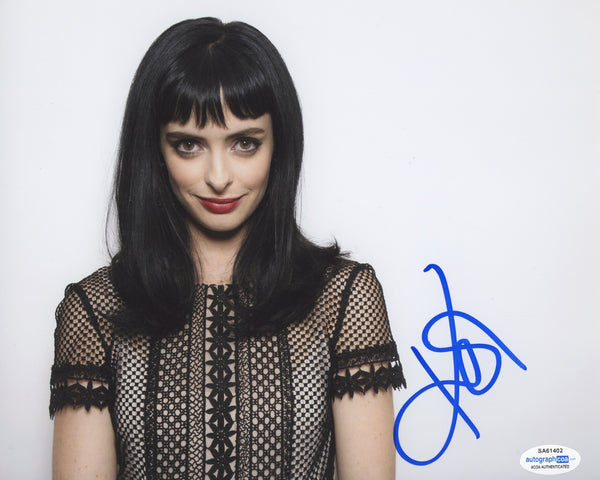 Krysten Ritter Jessica Jones Signed Autograph 8x10 Photo ACOA
