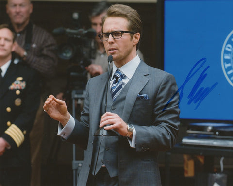 Sam Rockwell Iron Man Signed Autograph 8x10 Photo - Outlaw Hobbies Authentic Autographs