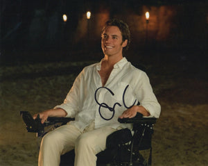 Sam Claflin Me Before You Signed Autograph 8x10 Photo #2 - Outlaw Hobbies Authentic Autographs