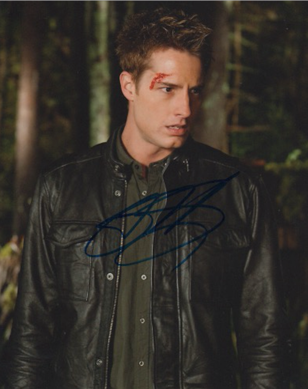 Justin Hartley Smallville Signed Autograph 8x10 Photo #4 - Outlaw Hobbies Authentic Autographs