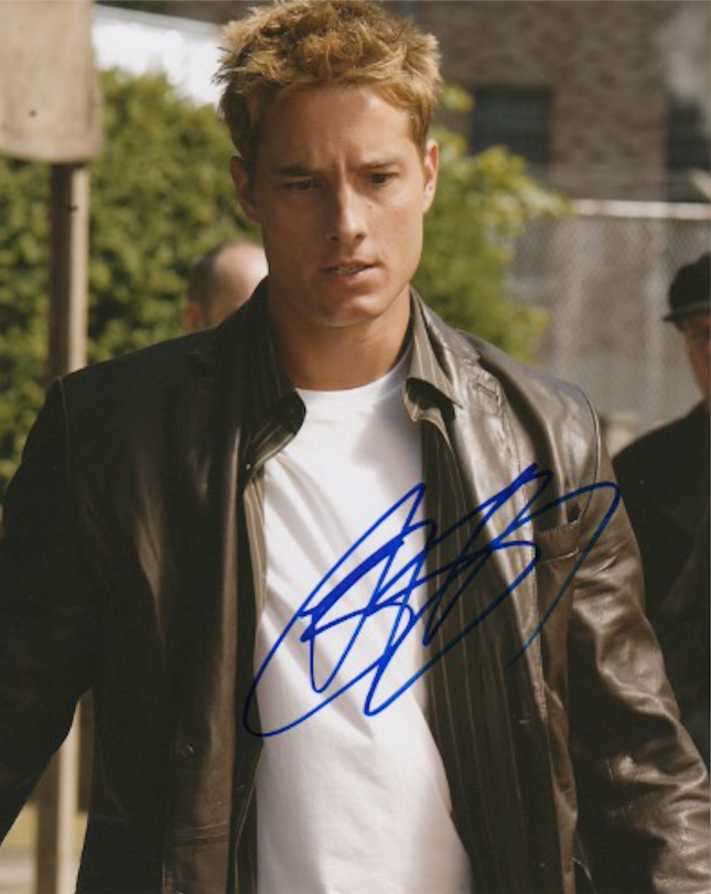 Justin Hartley Smallville Signed Autograph 8x10 Photo #7 - Outlaw Hobbies Authentic Autographs
