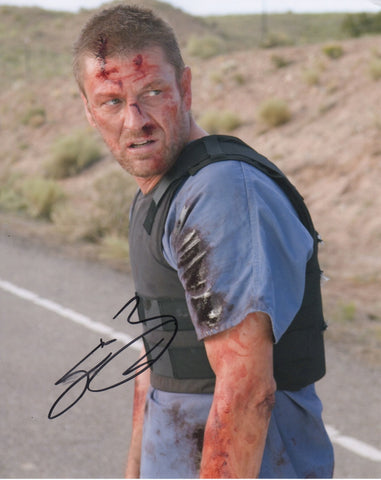 Sean Bean Hitcher Signed Autograph 8x10 Photo #4 - Outlaw Hobbies Authentic Autographs