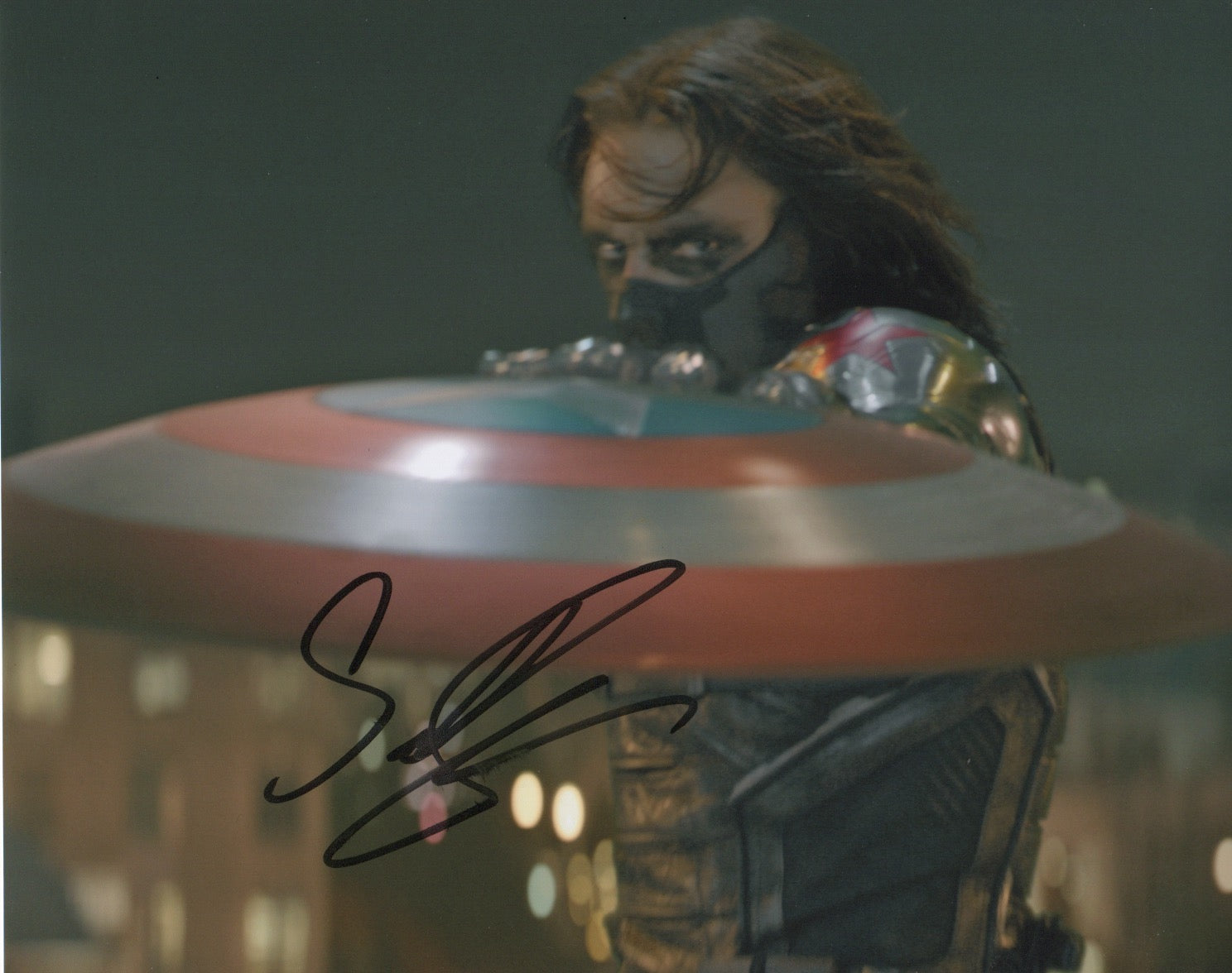 Sebastian Stan Marvel Signed Autograph 8x10 Photo #4 - Outlaw Hobbies Authentic Autographs