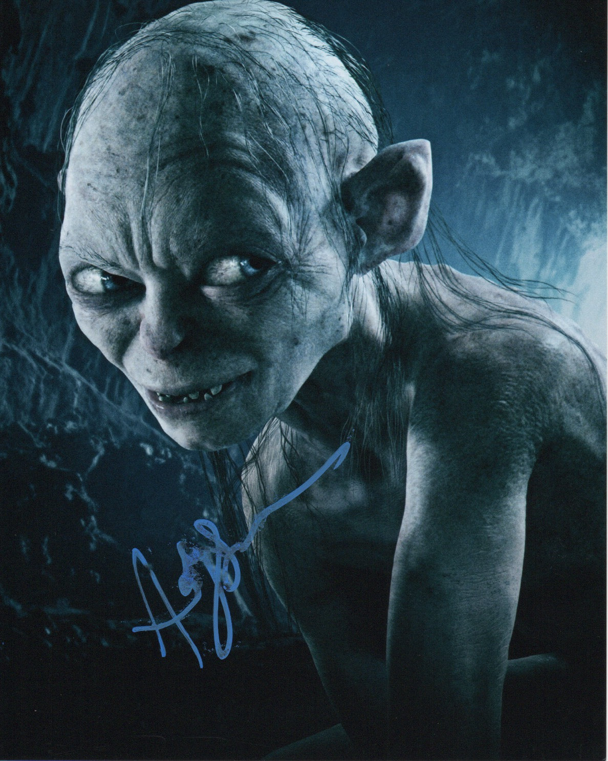Andy Serkis Lord of the Rings Signed Autograph 8x10 Photo