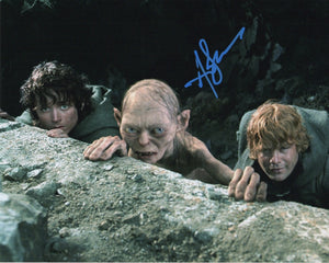 Andy Serkis Lord of the Rings Signed Autograph 8x10 Photo #2