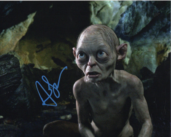 Andy Serkis Lord of the Rings Signed Autograph 8x10 Photo #4