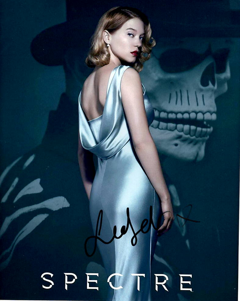 Lea Seydoux Sexy Bond Signed Autograph 8x10 Photo #3