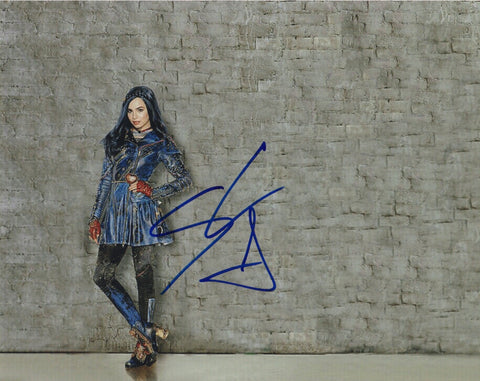Sofia Carson Descendants Signed Autograph 8x10 Photo - Outlaw Hobbies Authentic Autographs