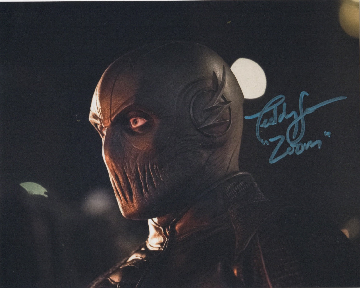 Teddy Sears The Flash Signed Autograph Zoom 8x10 Photo #4 - Outlaw Hobbies Authentic Autographs