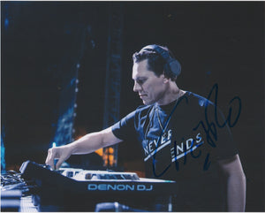DJ Tiesto Signed Autograph 8x10 Photo #2