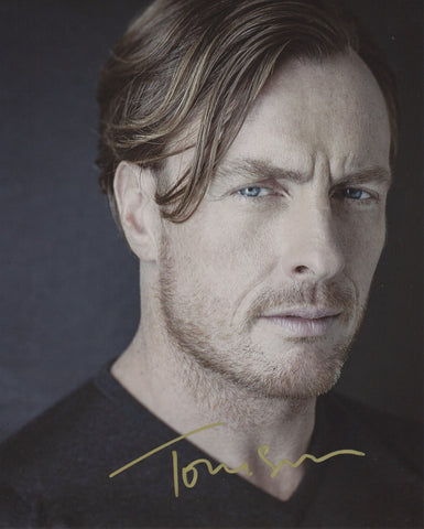 Toby Stephens Lost in Space Signed Autograph 8x10 Photo COA