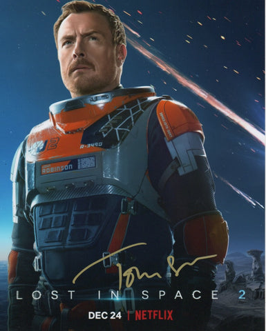 Toby Stephens Lost in Space Signed Autograph 8x10 Photo COA #2