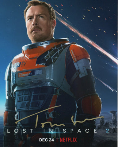 Toby Stephens Lost in Space Signed Autograph 8x10 Photo COA #3 - Outlaw Hobbies Authentic Autographs