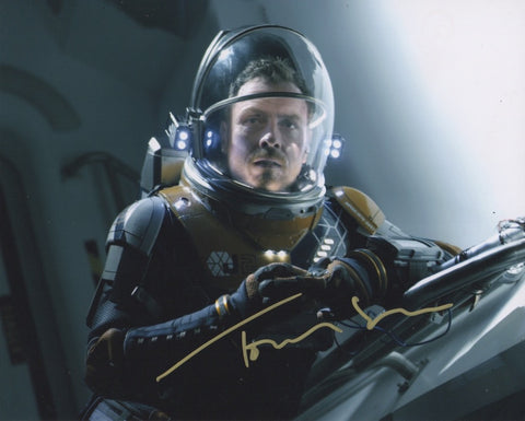 Toby Stephens Lost in Space Signed Autograph 8x10 Photo COA #4