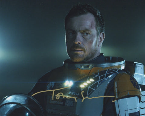 Toby Stephens Lost in Space Signed Autograph 8x10 Photo COA #6