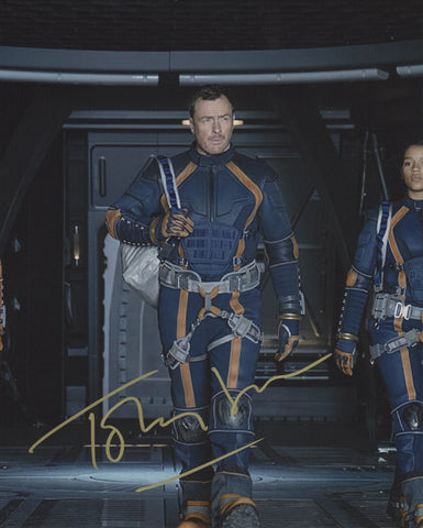 Toby Stephens Lost in Space Signed Autograph 8x10 Photo COA #5