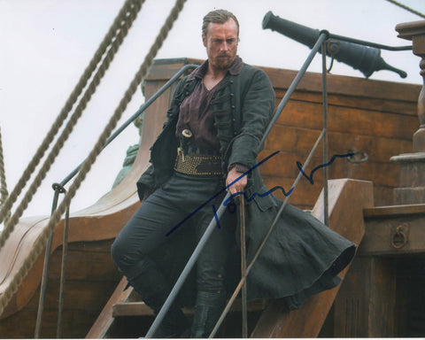 Toby Stephens Black Sails Signed Autograph 8x10 Photo #3 - Outlaw Hobbies Authentic Autographs