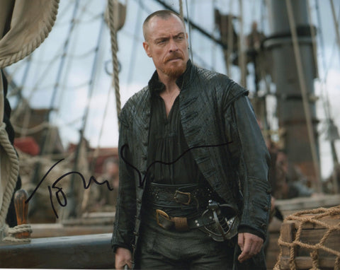 Toby Stephens Black Sails Signed Autograph 8x10 Photo #2 - Outlaw Hobbies Authentic Autographs