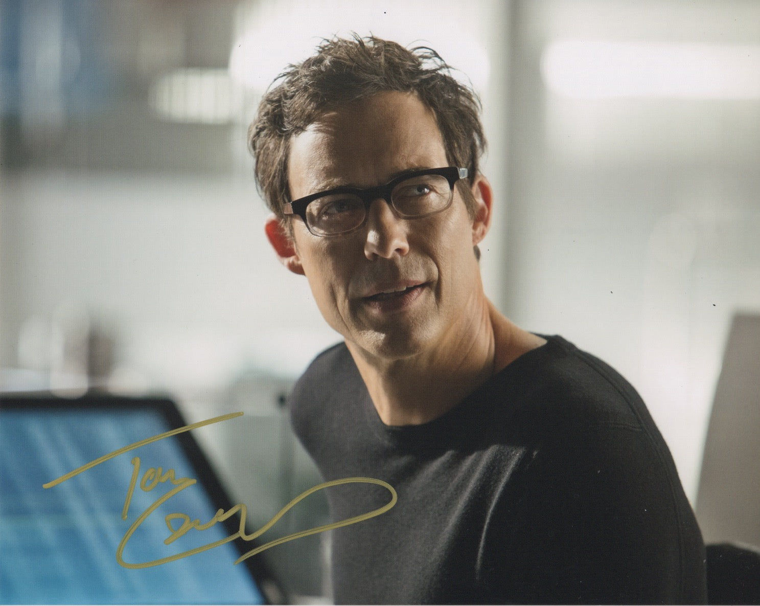 Tom Cavanagh The Flash Signed Autograph 8x10 Photo #8