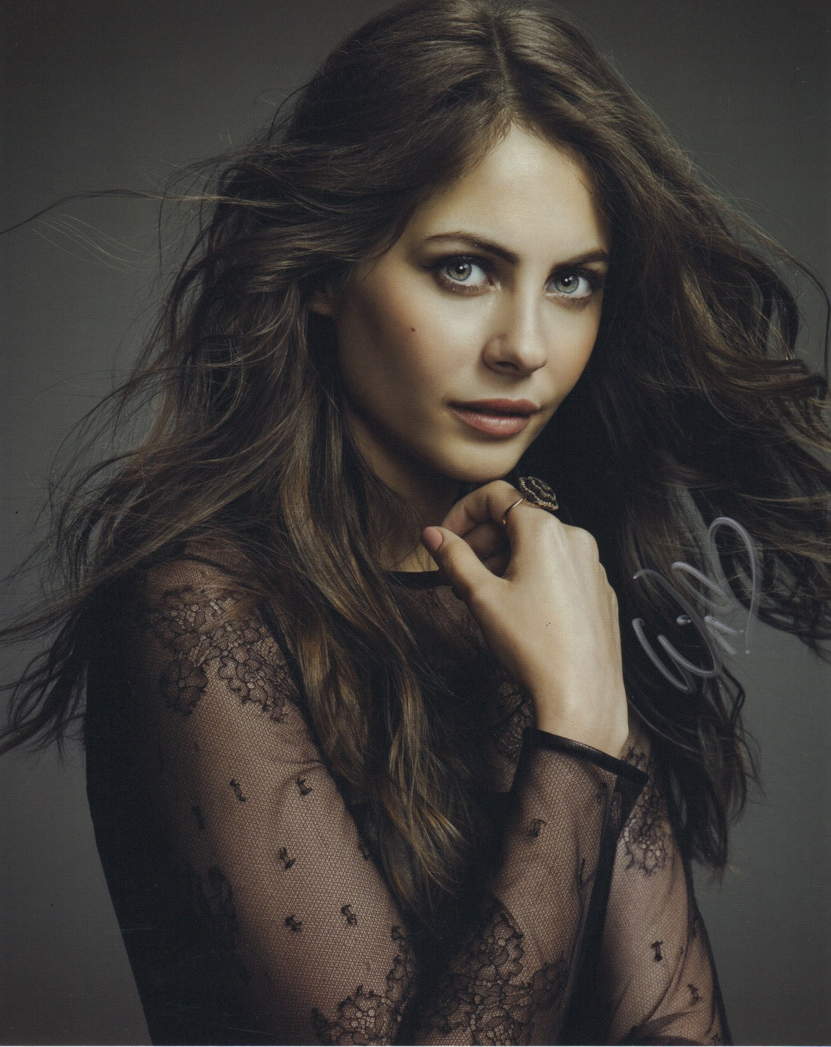 Willa Holland Signed Autograph 8x10 Photo Arrow Speedy #5