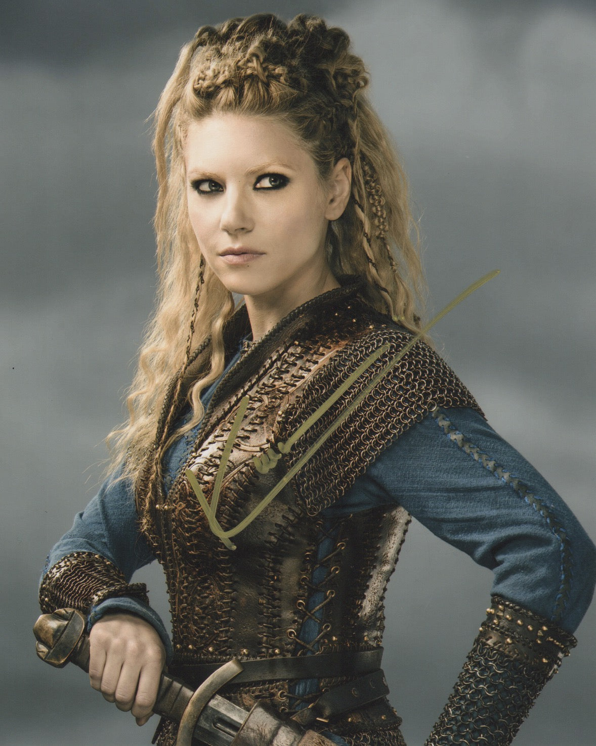 Katheryn Winnick Signed Autograph 8x10 Photo - Outlaw Hobbies Authentic Autographs