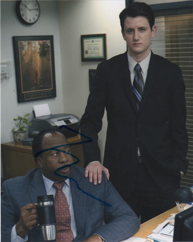 Zach Woods The Office Signed Autograph 8x10 Photo - Outlaw Hobbies Authentic Autographs