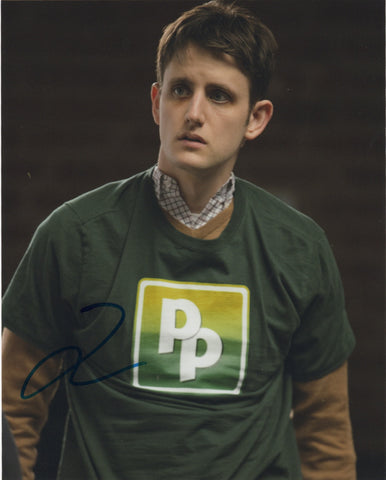 Zach Woods Silicon Valley Signed Autograph 8x10 Photo #3