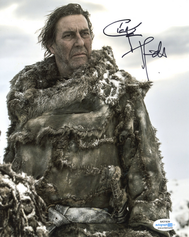 Ciaran Hinds Game of Thrones Signed Autograph 8x10 Photo ACOA - Outlaw Hobbies Authentic Autographs