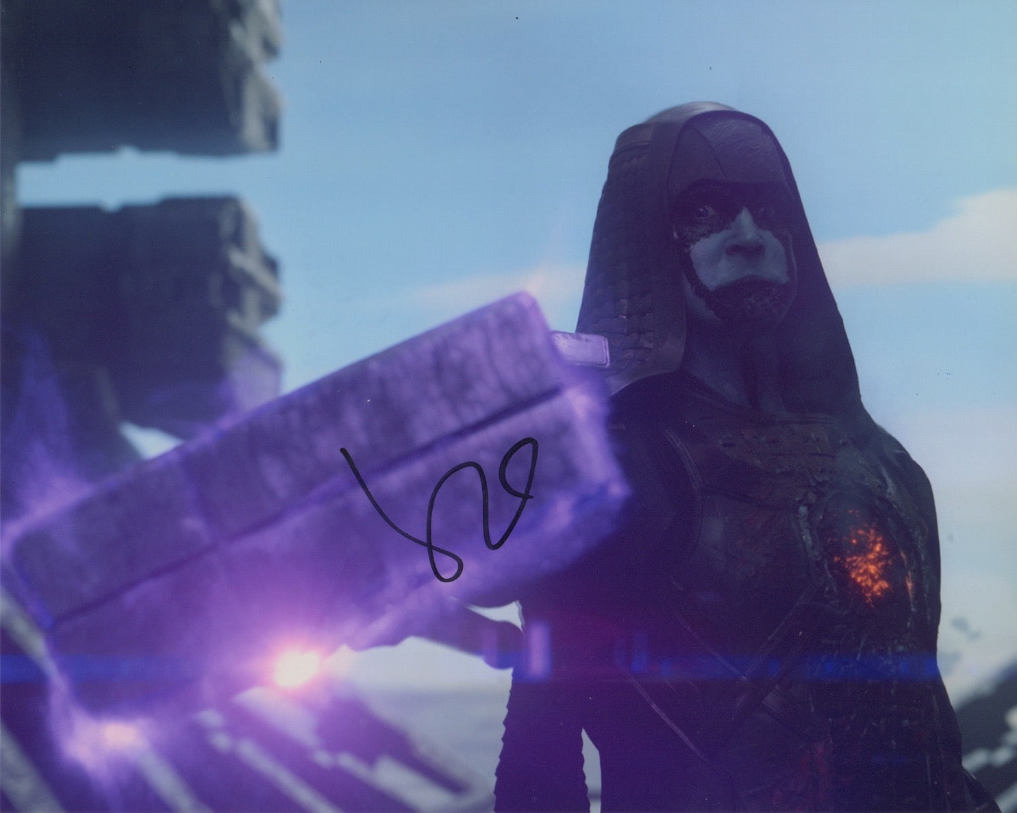 Lee Pace Guardians of the Galaxy Signed Autograph 8x10 Photo #3