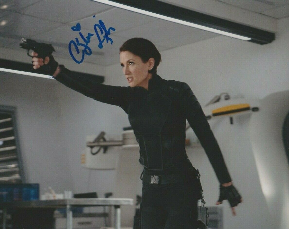 Chyler Leigh Supergirl Signed Autograph 8x10 Photo #2 - Outlaw Hobbies Authentic Autographs