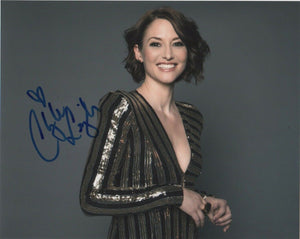 Chyler Leigh Supergirl Signed Autograph 8x10 Photo #4 - Outlaw Hobbies Authentic Autographs