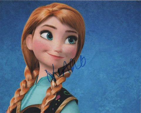 Kristen Bell Frozen Signed Autograph 8x10 Photo COA
