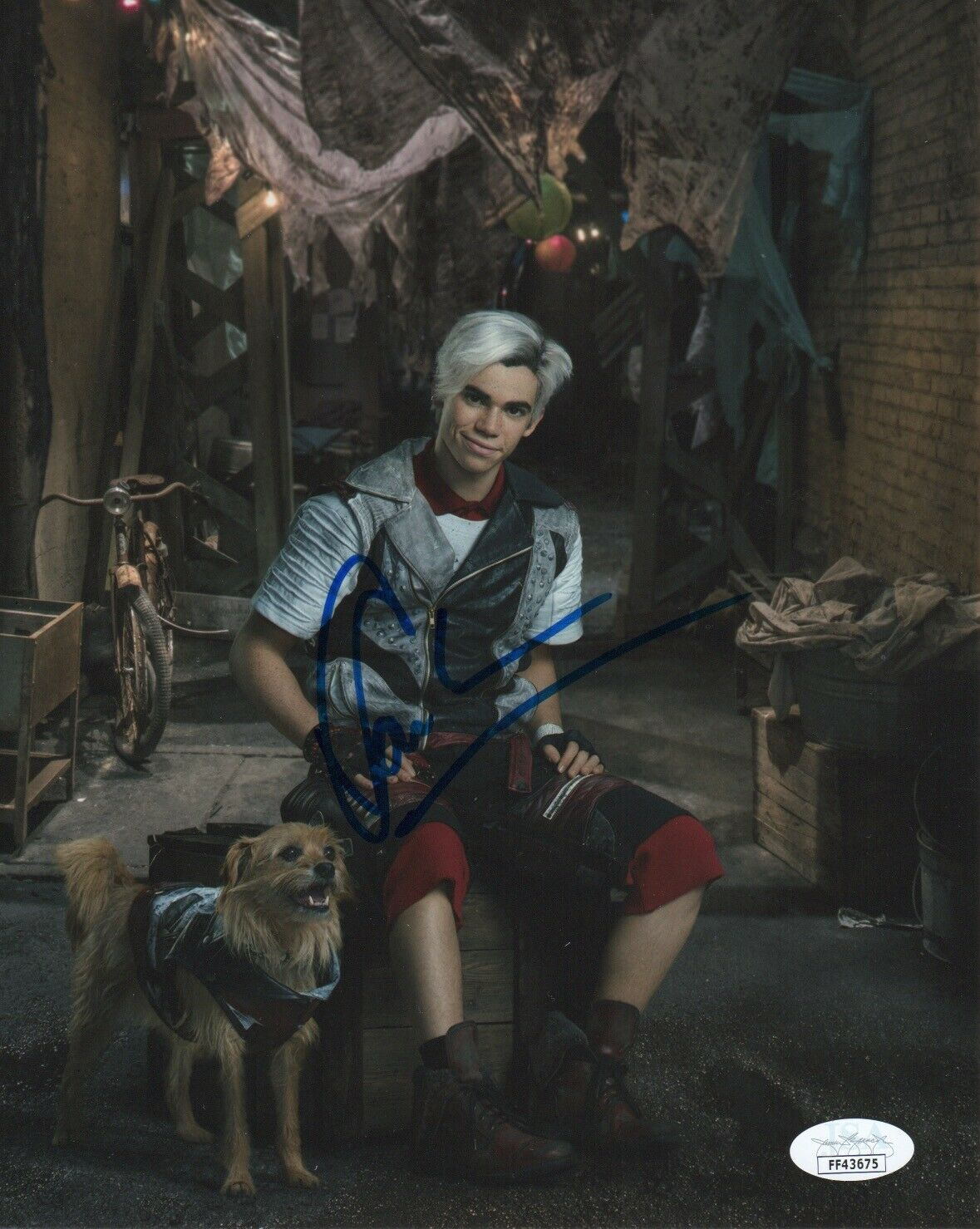 Cameron Boyce Descendants Signed Autograph 8x10 Photo